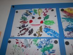 Práce dětí mateřské školy