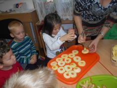 Pečení jablíček