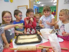 2. třída – pečení závinu
