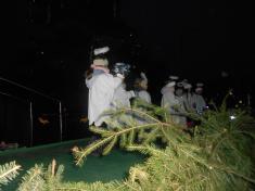 Vystoupení dětí na rozsvícení vánočního stromu