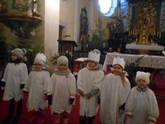 Tříkrálová koleda – zahájení v místním kostele